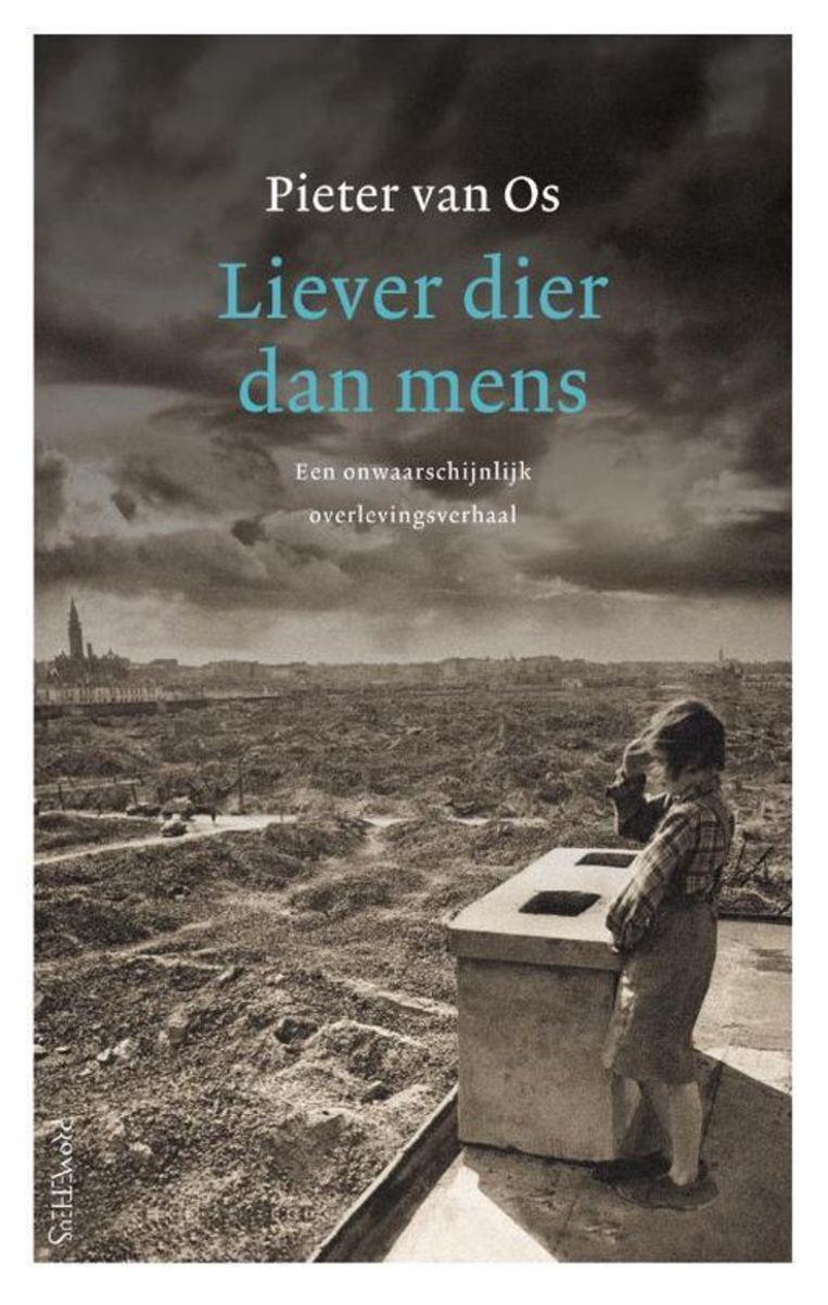 Liever dier dan mens, Pieter vanOs boek, boeken, cover, kosteloos Beeld -
