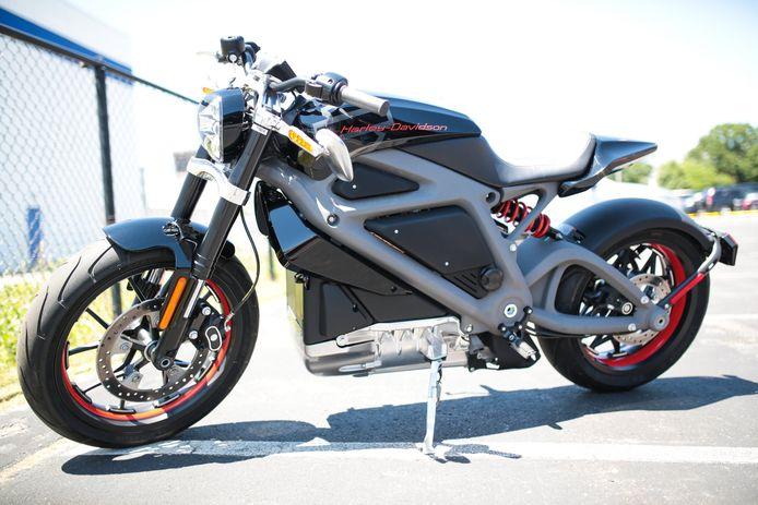 De elektrische Harley Davidson Livewire.
