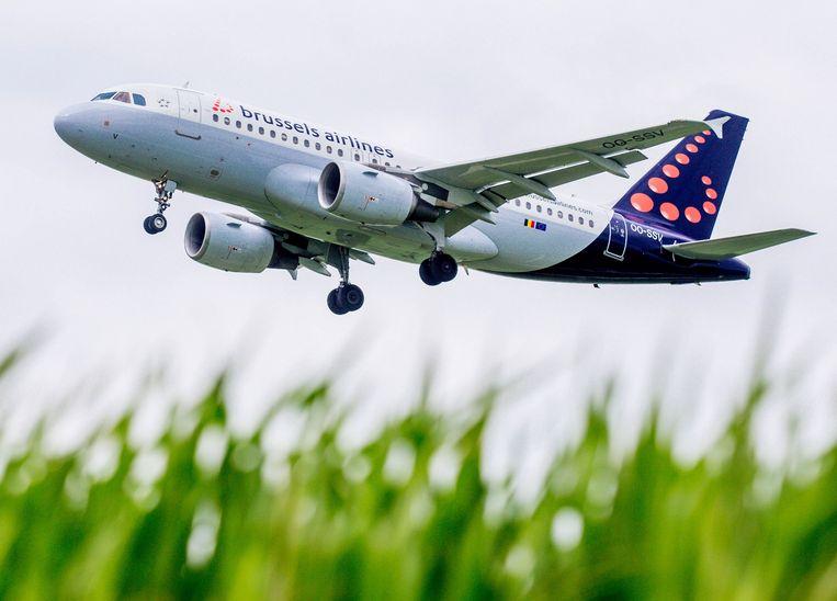 Brussels Airlines herrees uit de as van Sabena en ging in maart 2007 officieel van start. Beeld EPA