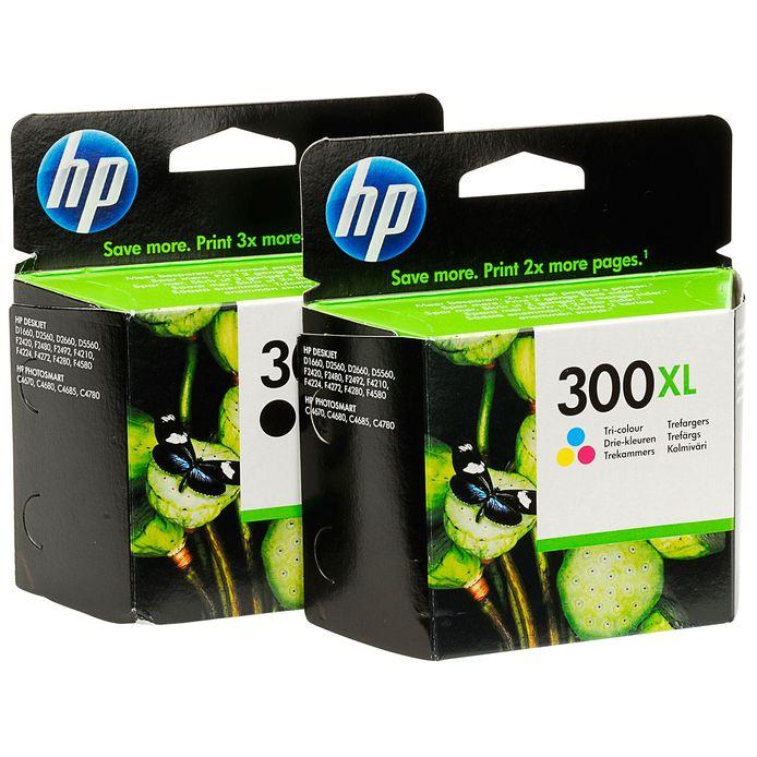 Inktpatronen van HP.