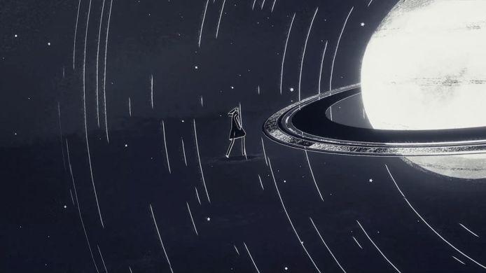 Ondanks zijn ingetogen graphics brengt 'Genesis Noir' je in kosmische taferelen.