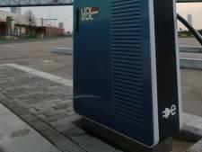 Nieuwe snelladers VDL bij distributiecentrum van Albert Heijn