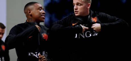 Van de Beek dolt met PSV'er Bergwijn na vermeende interesse Ajax