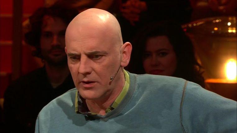 Acteur Sam Louwyck deed een aantal controversiële uitspraken rond dronkenschap achter het stuur in 'Van Gils en Gasten'. Beeld RV