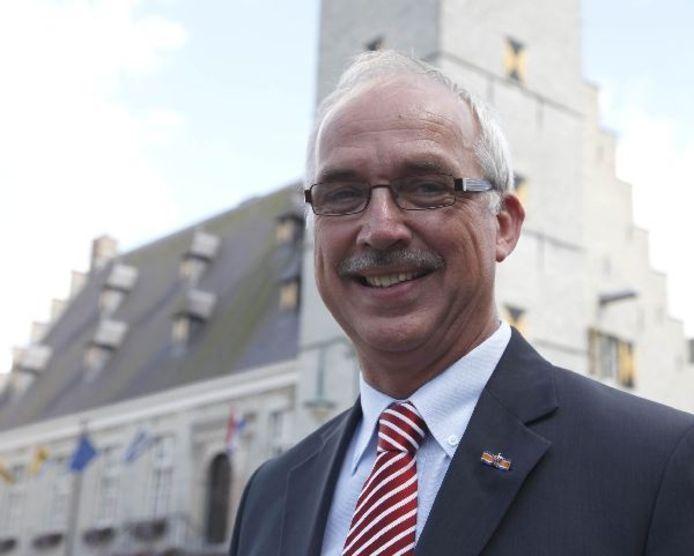 Burgemeester Jan Frans Mulder.