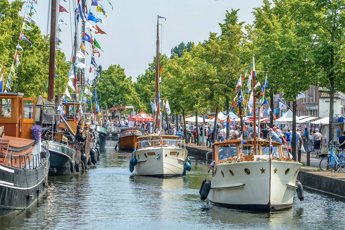Het Grachtenfestival in Meppel is dit jaar voor de vijftiende keer.