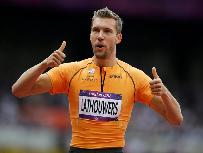 Robert Lathouwers op de Olympische Spelen van 2012, in Londen.