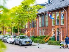 Toch nog een beetje Oranjekoorts in de Hoeksche Waard? Honderden oranje vlaggetjes sieren deze wijk
