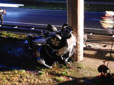 Arnhemse vrouw zwaargewond bij ernstig ongeval op A50