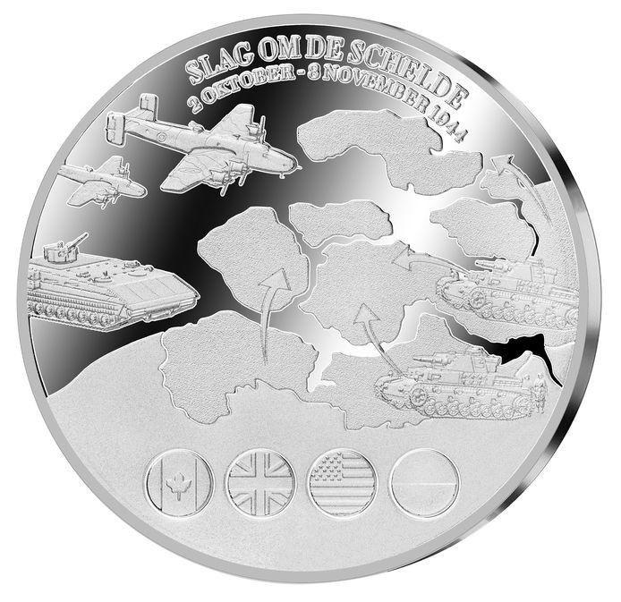De munt van de Slag om de Schelde.