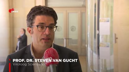 """Viroloog Steven Van Gucht: """"Beter om niet in een lange wachtrij te staan"""""""
