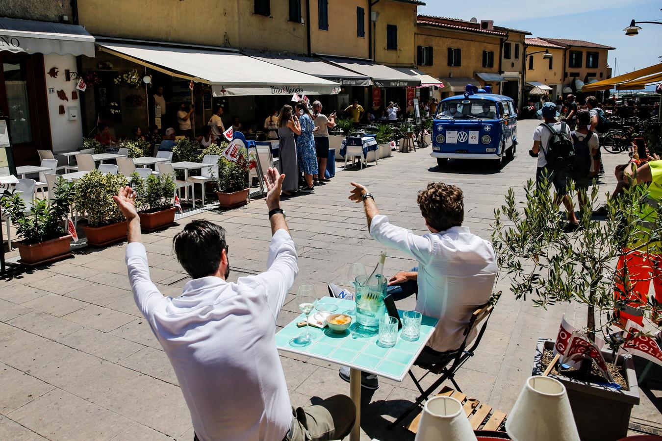 Een warm welkom in Castiglione della Pescaia, bij Grosseto, Toscane.