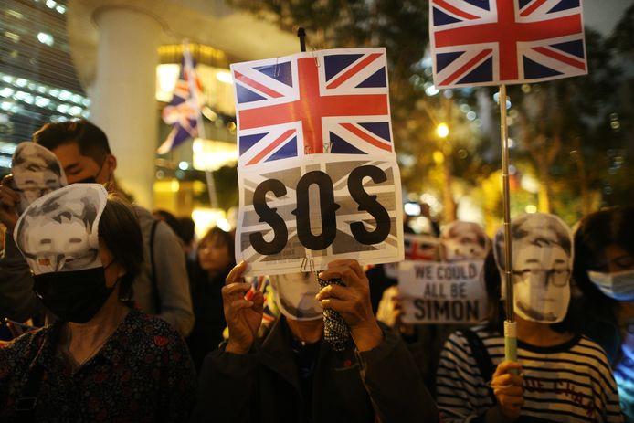 De betogers zijn terug in het centrum van Hongkong.