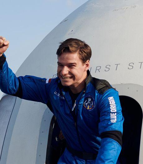 Astronaut Oliver (18) is na een krankzinnige week weer veilig thuis: 'Het was zó ongelofelijk en zó kicken'