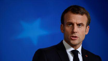 """Macron kritisch voor zwakke NAVO-reactie op Turks offensief in Noord-Syrië: """"Ernstige fout"""""""