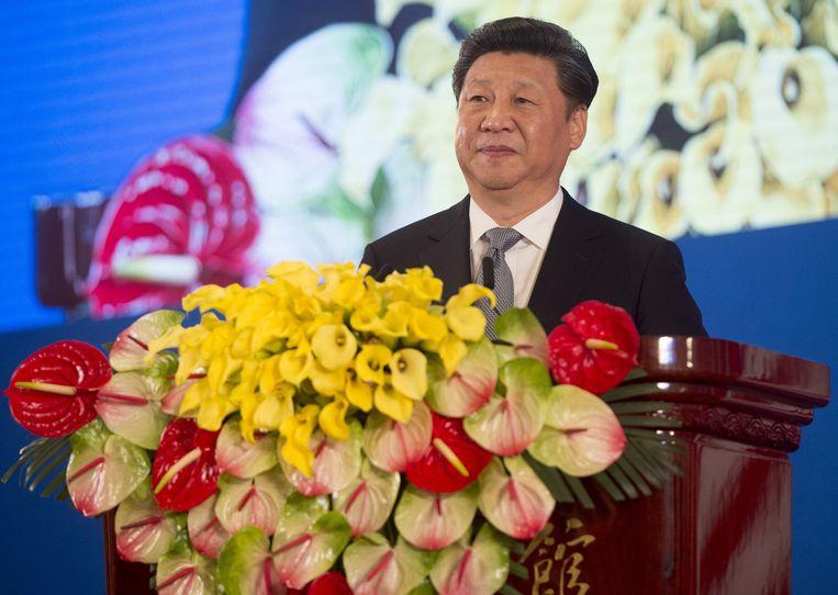 Xi Jinping. Beeld ap