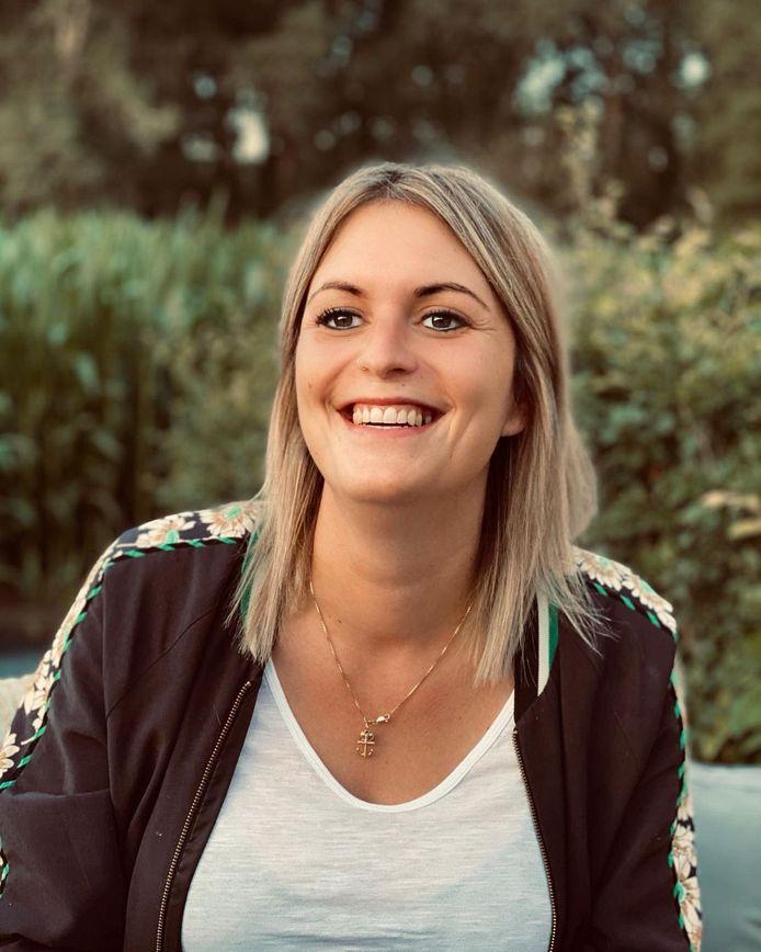 Eline Michiels uit 'De Mol' 2017.