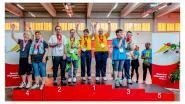 Atleten Sportclub Druivenstreek behalen 16 medailles op Nationale Spelen