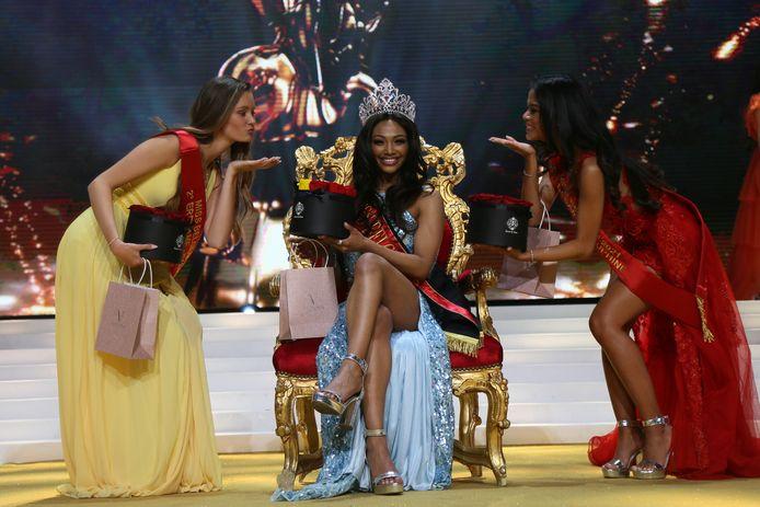 Kedist Deltour a été élue Miss belgique 2021.