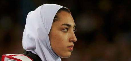 Gevluchte Iraanse taekwondoka nu in Duitsland