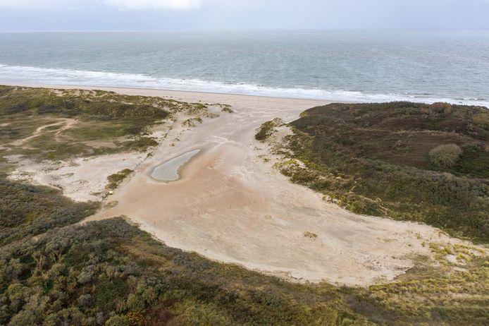 Het sluftergebied bij De Banjaard.