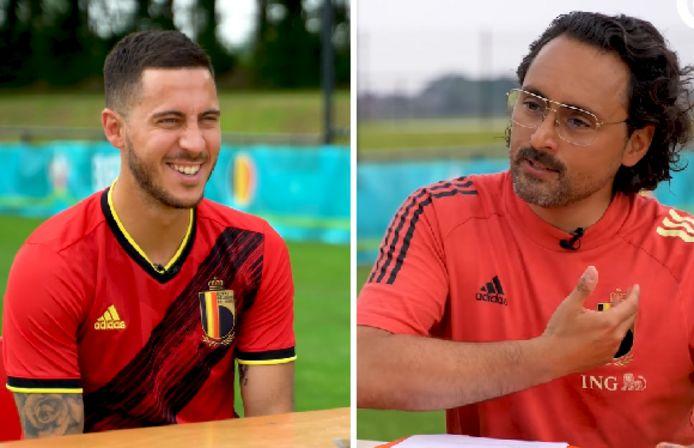 Eden Hazard et Pablo Andrès