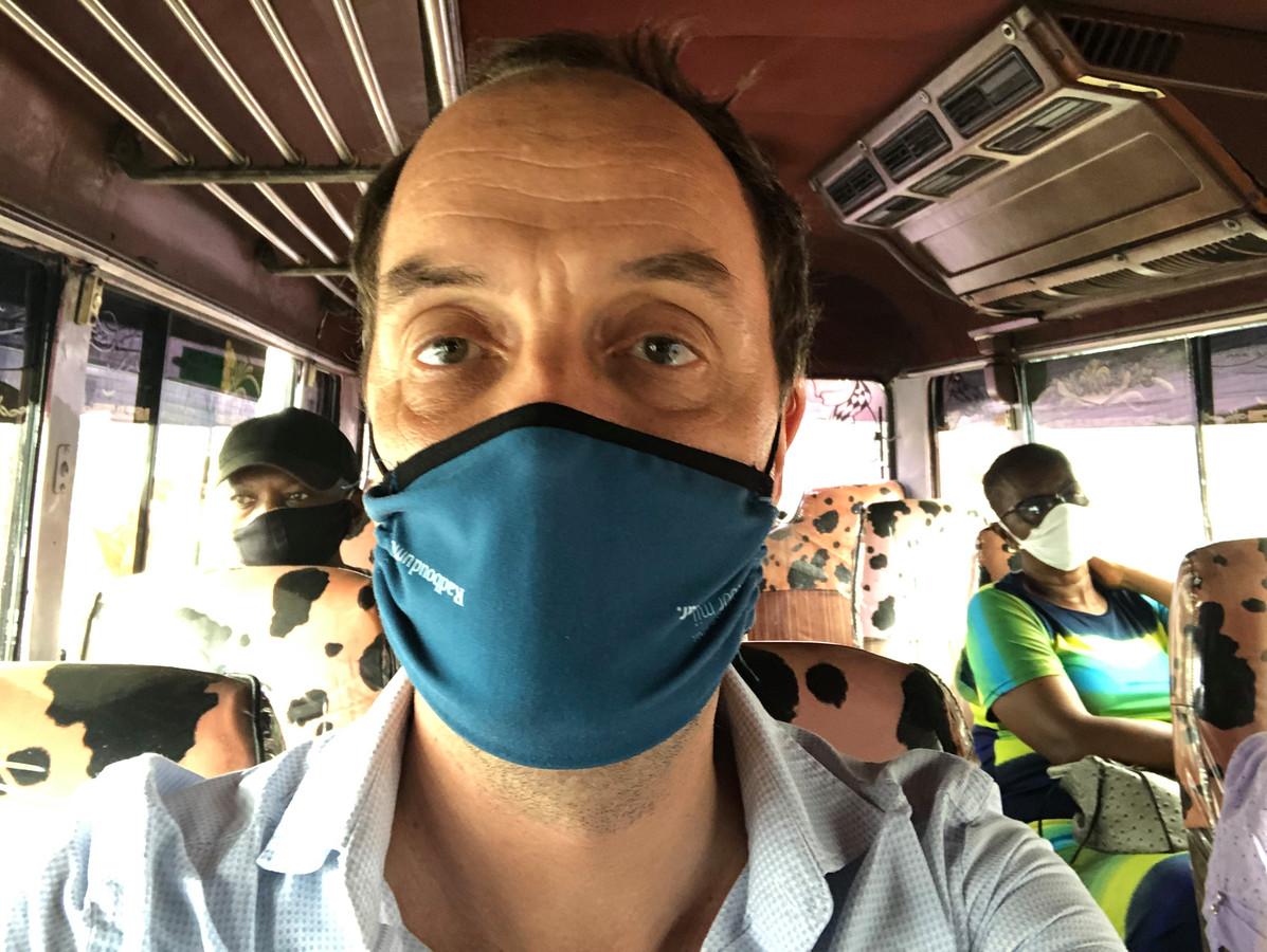 Jeroen Schouten in Suriname.