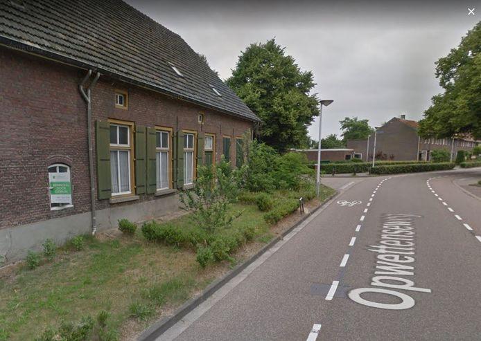 De Opwettenseweg in Nuenen.