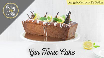 Tijd om deze middag een lekkere gin tonic-cake te bakken?