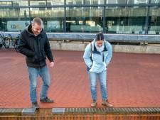 'Iergh! Wat een engerd!' Gigantische paling zwemt door centrum Arnhem