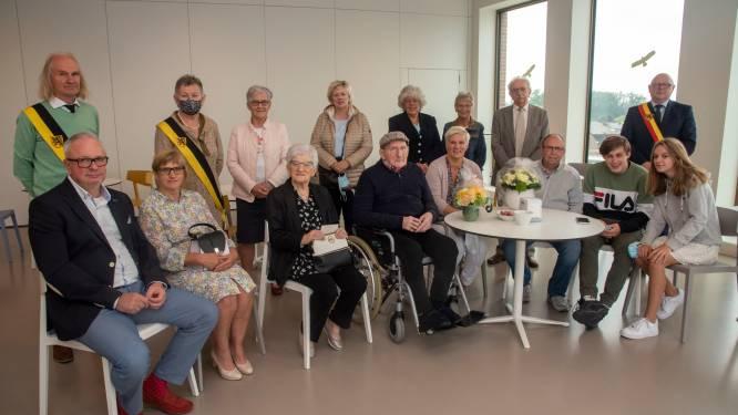 Angèle en Honoré vieren zestigste huwelijksverjaardag