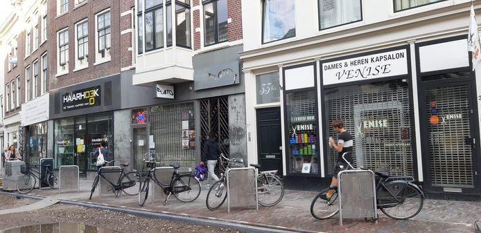 De fietsnietjes in de Voorstraat.