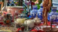 Antiek- en Brocantemarkt in Eke-dorp