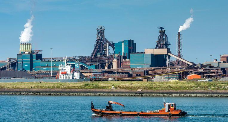 De hoogovens van staalbedrijf Tata Steel. Beeld ANP