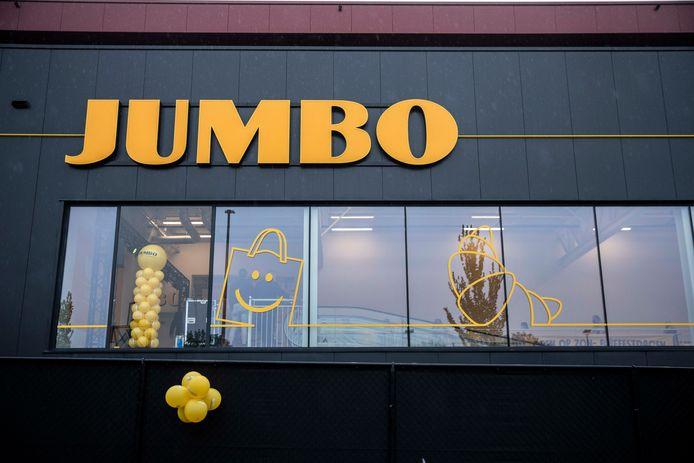 Opening Jumbo winkel in Heusden-Zolder.