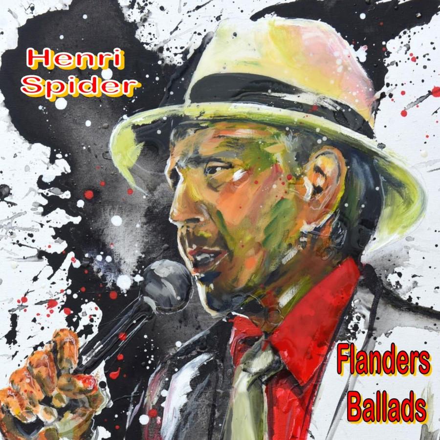 De nieuwe cd van Henri Spider.
