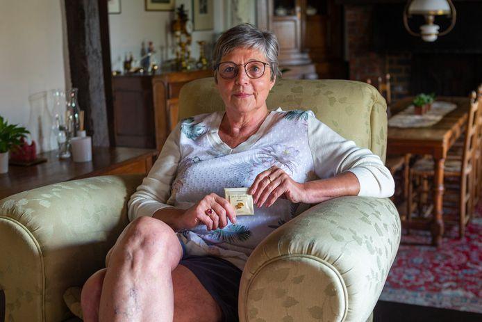 """Marleen Verheuen in haar woonst in Brakel: """"Ik besef hoeveel geluk ik heb gehad. Anderen wijdden hun hele leven aan dat ene doel, terwijl ik het op een zeer korte carrière mocht meemaken."""""""