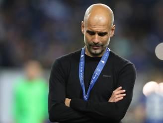 """Guardiola over de kritiek op zijn tactiek: """"Ik heb de spelers gebracht, waarvan ik dacht dat we de meeste kansen hadden om te winnen"""""""