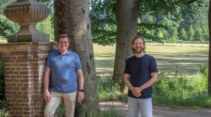 Peter Moorman (links) is geen lijsttrekker tijdens de aankomende gemeenteraadsverkiezingen. Niels Folgers (rechts) volgt hem op.