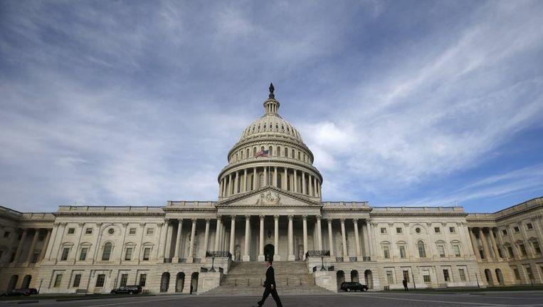 Het Capitool in Washington Beeld reuters
