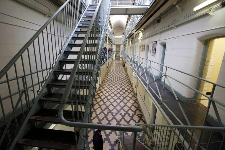 De gevangenis van Leuven-Centraal.
