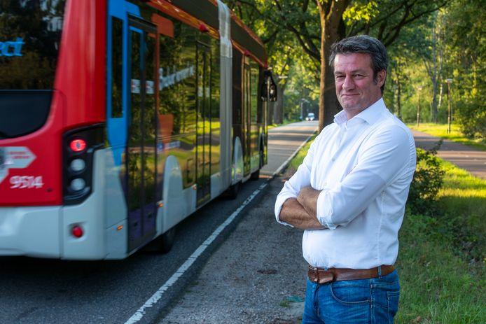 Rob Kimpen vindt dat de Sondervick in Veldhoven veiliger moet.