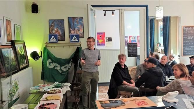 Groen Ronse reikt groene pluim uit aan Anna Vandersteene van de Wellbe Bar