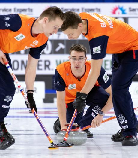Wereldbekerzege voor Nederlandse curlingmannen in Champéry