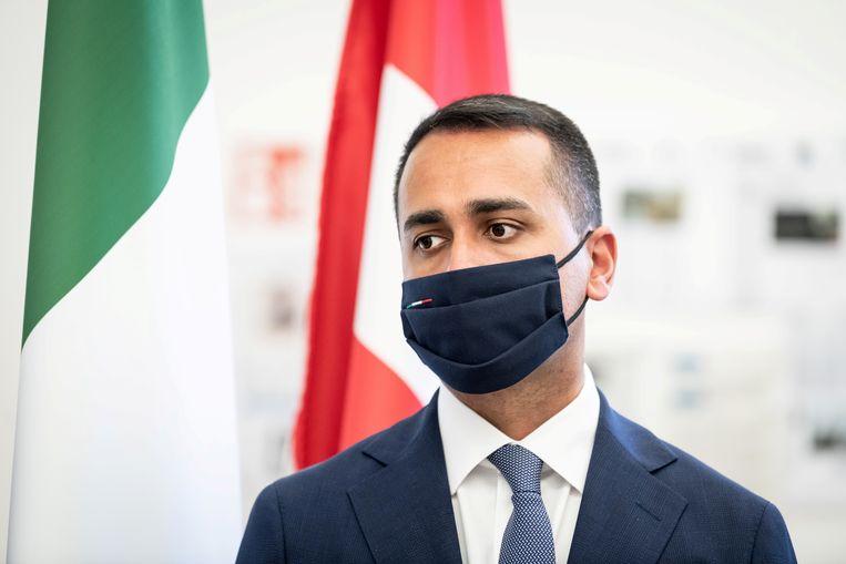 Italiaans buitenlandminister Luigi Di Maio. Beeld REUTERS