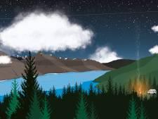 Lake Wakatipu in Nieuw-Zeeland: een herinnering om in te lijsten