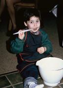 Benny Blisto als kind.