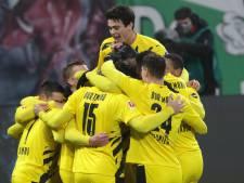 Dortmund helpt Bayern een handje en houdt Leipzig van koppositie