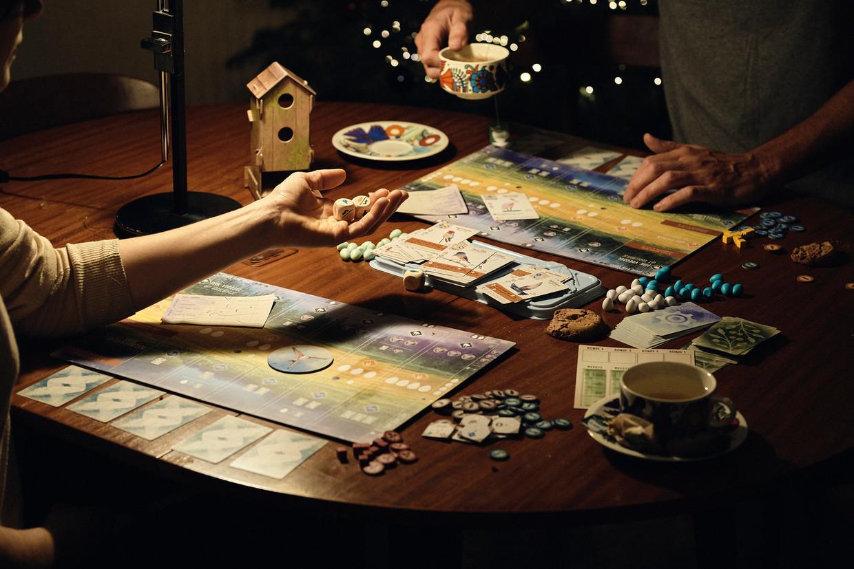 Tijdens de lockdown zijn bordspelen erg populair in Vlaanderen. Beeld Thomas Nolf