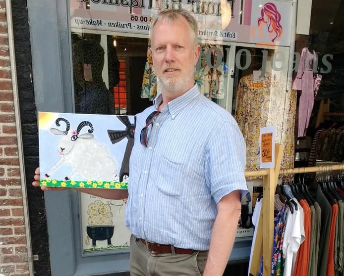 Bert Braanker  van de organiserende ondernemersvereniging POBD.